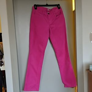 Pink skinny cords--27 Short